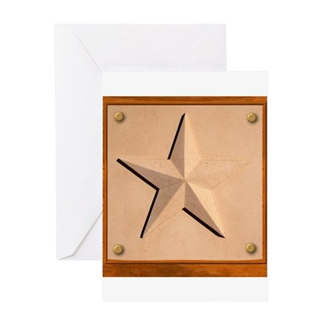 Texas Star #2 Greeting Card