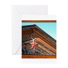 Texas Star #1 Greeting Card