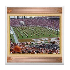 Cotton Bowl #2 Tile Coaster