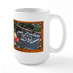 Texas, Mexico, Everybody Else Large Mug