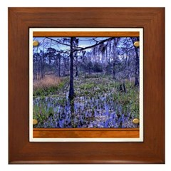 Sabine River Framed Tile