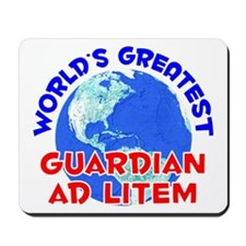 World's Greatest Guard.. (E) Mousepad