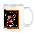 Texas Mustache Mug