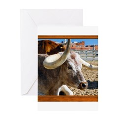 Longhorn #7 Greeting Card