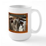 Longhorn #6 Large Mug