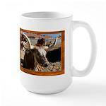 Longhorn #5 Large Mug
