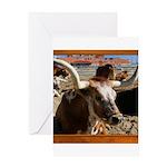 Longhorn #5 Greeting Card