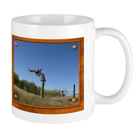 Keep Away! Sign Mug