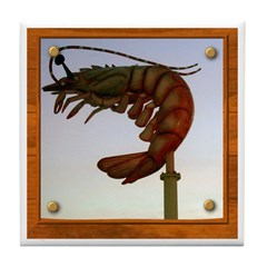 Jumbo Shrimp! Tile Coaster