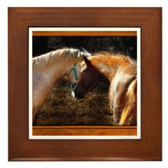 Horse #2 Framed Tile