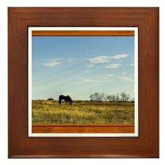 Horse #1 Framed Tile