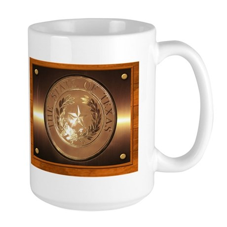 Great Seal of Texas Large Mug