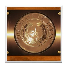 Great Seal of Texas Tile Coaster