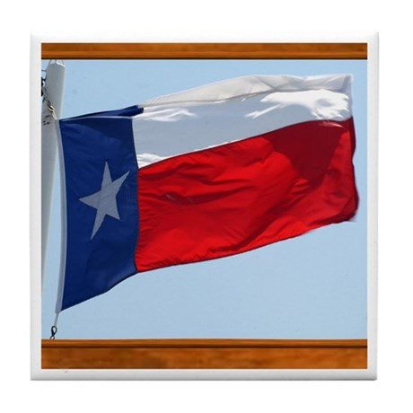 State Flag #3 Tile Coaster