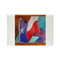 State Flag #2 Rectangle Magnet