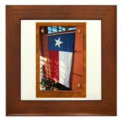 State Flag #1 Framed Tile
