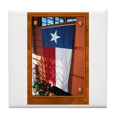 State Flag #1 Tile Coaster