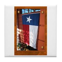 State Flag #1 Tile Coaster