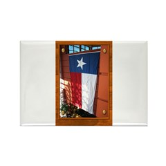 State Flag #1 Rectangle Magnet