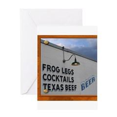 Texas Dining Greeting Card