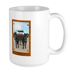 Texas Buggy Large Mug