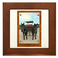 Texas Buggy Framed Tile