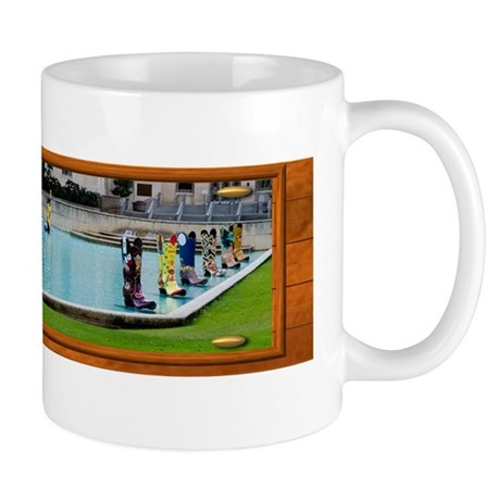 Boots on the Water Mug