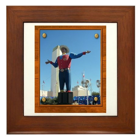 Big Tex #1 Framed Tile
