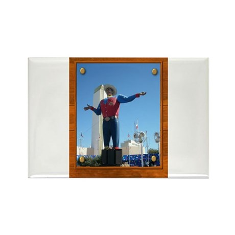 Big Tex #1 Rectangle Magnet