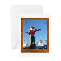 Big Tex #1 Greeting Card
