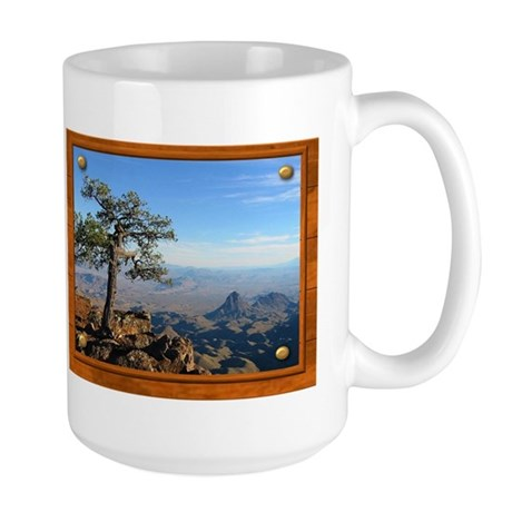 Big Bend Country Large Mug
