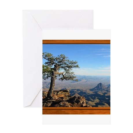 Big Bend Country Greeting Card
