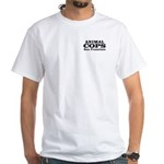 SF Animal Cops White T-Shirt