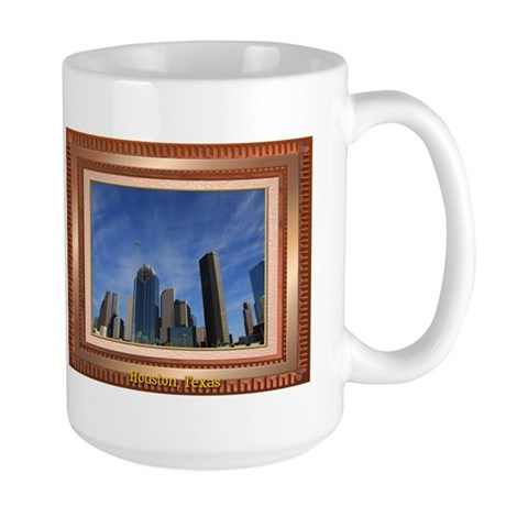 Houston Skyline #7 Large Mug 