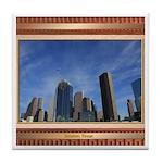 Houston Skyline #7 Tile Coaster