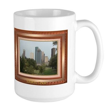 Houston Skyline #6 Large Mug