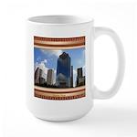 Houston Skyline #5 Large Mug
