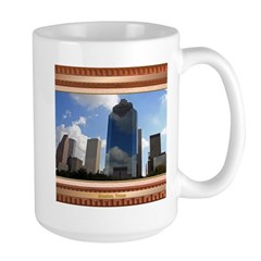 Houston Skyline #5 Large Mug