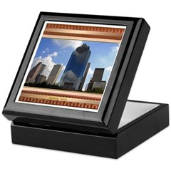 Houston Skyline #5 Keepsake Box
