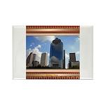 Houston Skyline #5 Rectangle Magnet