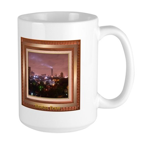 Houston Skyline #4 Large Mug