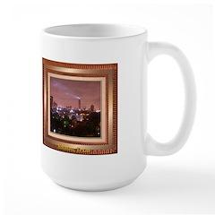 Houston Skyline #4 Large Mug