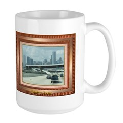 Houston Skyline #3 Large Mug