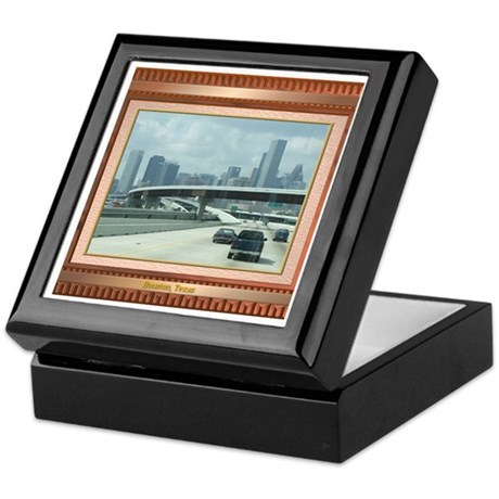 Houston Skyline #3 Keepsake Box