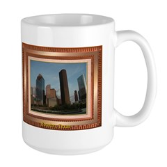 Houston Skyline #2 Large Mug