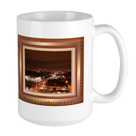 Houston Skyline #1 Large Mug