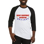 Retired Heavy Equipment Operator Baseball Jersey