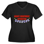 Retired Heavy Equipment Operator Women's Plus Size