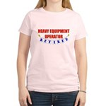 Retired Heavy Equipment Operator Women's Light T-S