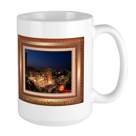 Crawfish Festival Large Mug